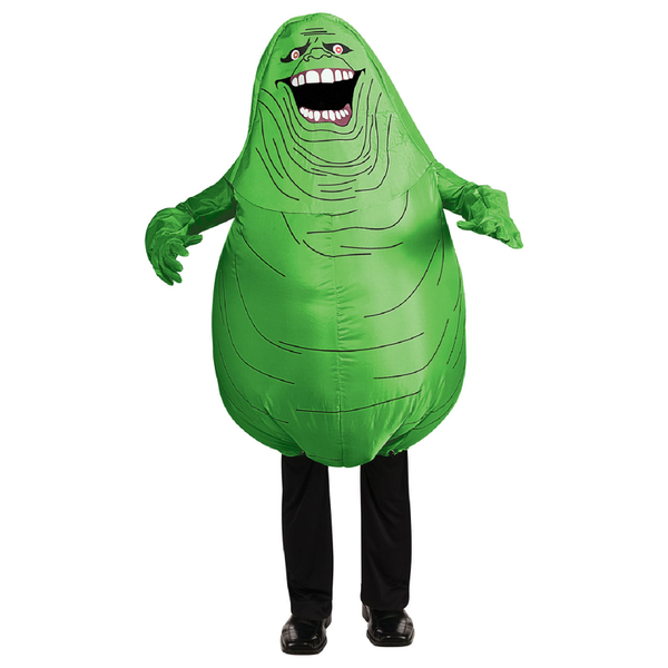 Ghostbusters Men's Inflatable Slimer Fancy Dress Costume - One Size
