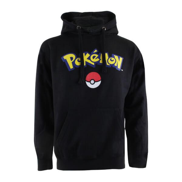 Pokemon Men's Logo Hoody - Black