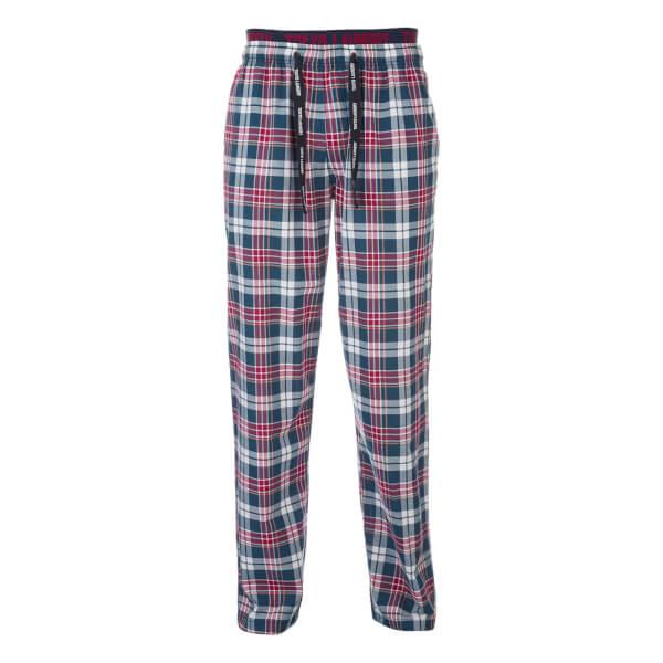 Pantalon de Pyjama à Carreaux Golding Tokyo Laundry -Rouge