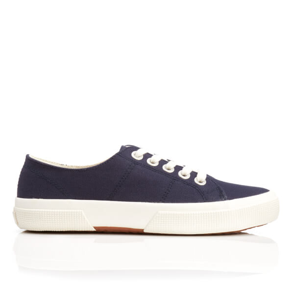 Lauren Ralph Lauren Women's Jolie-Ne Lace Up Vulcanised Trainers - Modern Navy