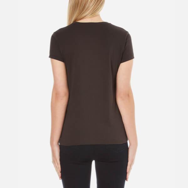 0c17d95eb04f Polo Ralph Lauren Women s Graphic T-Shirt - Grey Ghost - Free UK ...