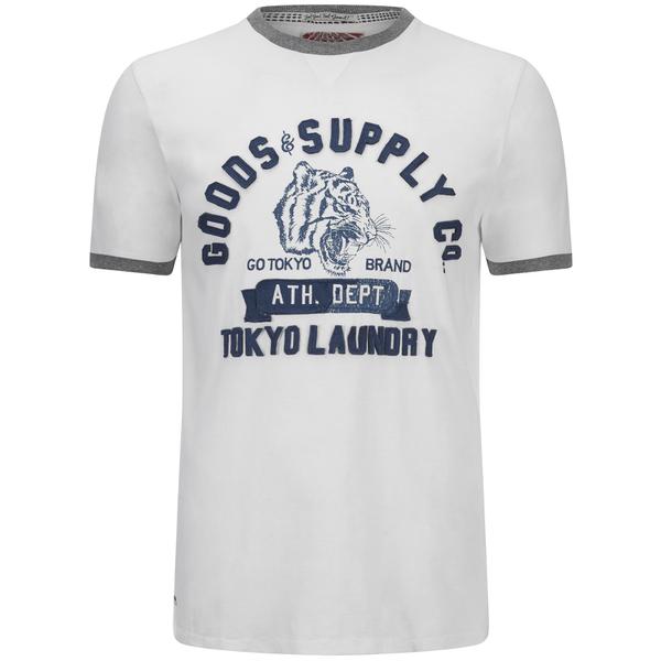 Tokyo Laundry Men's Tiger Lake T-Shirt - Ivory