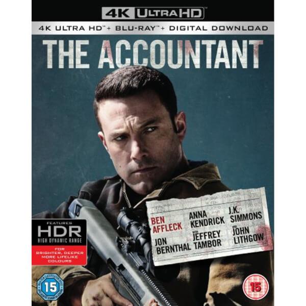 The Accountant - 4K Ultra HD