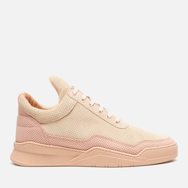 Filling pieces Men's Ghost Perforated Suede Low Top Trainers - All - UK 7 7AFBY5B3NH