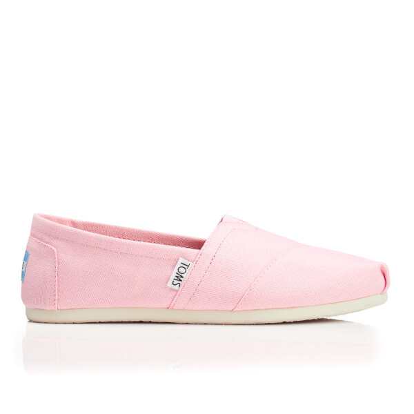 be3637b2260 TOMS Women s Seasonal Classic Slip-On Pumps - Pink Icing Canvas  Image 1