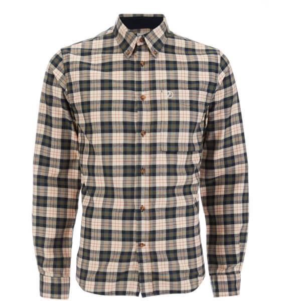 Fjallraven Men's Stig Flannel Shirt - Chalk White