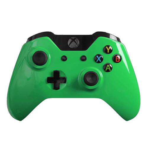 custom controllers xbox one controller gloss green games
