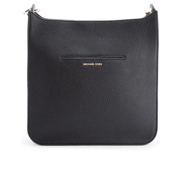 3c15442559a8 MICHAEL MICHAEL KORS Women s Sullivan Large North South Messenger Bag -  Black  Image 6