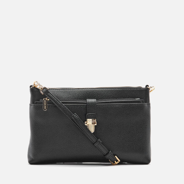 MICHAEL MICHAEL KORS Women's Mercer Large Snap Pocket Cross Body Bag - Black