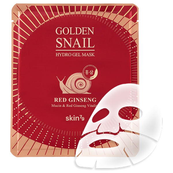 Skin79 Golden Snail Gel Mask 25g - Red Ginseng