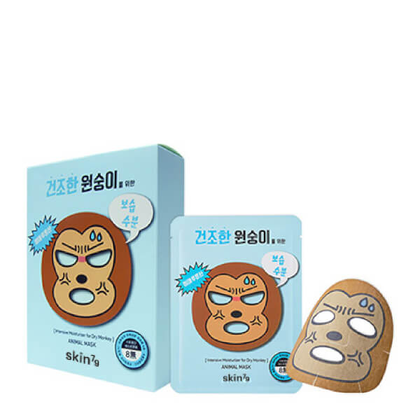 Skin79 Animal Mask 23g Monkey - Pack of 10