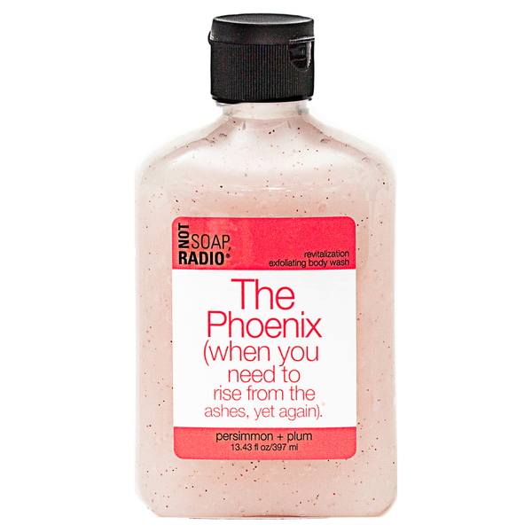 Not Soap Radio The Phoenix (when you need to rise from the ashes, yet again) Exfoliating Body Wash 397ml