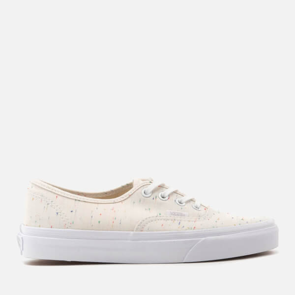 Vans Womenu0026#39;s Authentic Jersey Trainers - Cream/True White - Free UK Delivery over u00a350