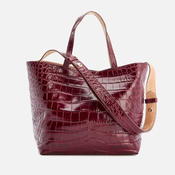 Elizabeth and James Women's Eloise Tote Bag - Oxblood