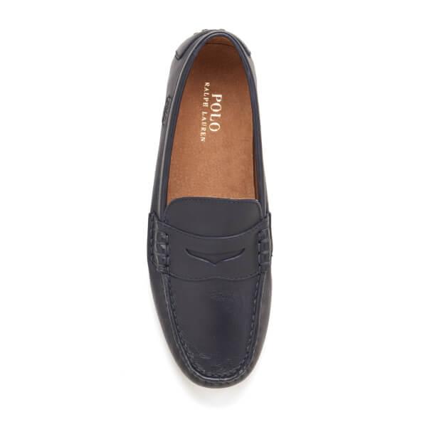 Polo Ralph Lauren Men's Wes E Driving Shoes Newport Navy: Image 3