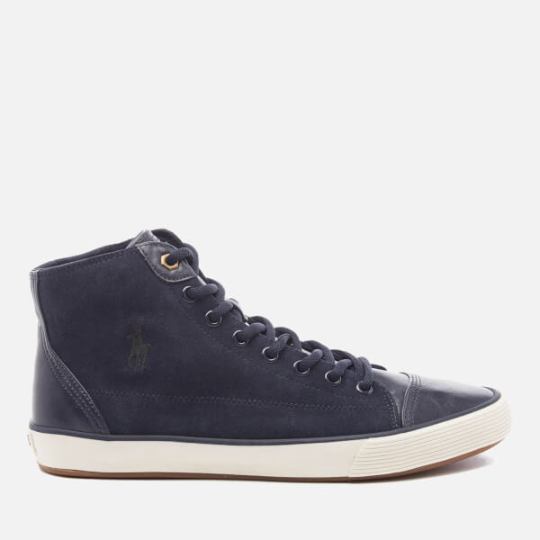 Polo Ralph Lauren Men's Kelsey Hi-Top Trainers - Newport Navy