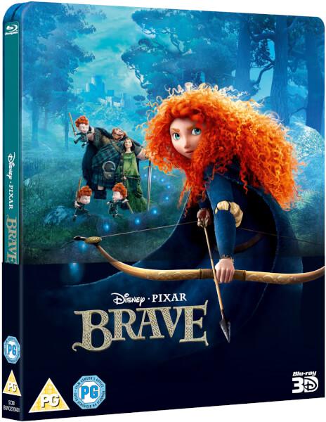 Brave 3D (Includes 2D Version) - Zavvi Exclusive Lenticular Edition Steelbook