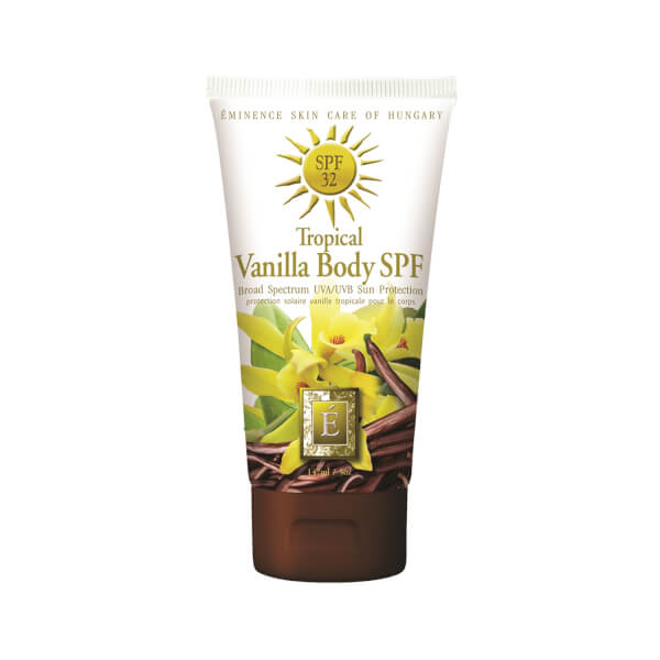 Eminence Tropical Vanilla Body Sun Cream Spf 32, 5 Ounce Glamglow Poutmud Sheer Tint Wet Lip Balm Treatment
