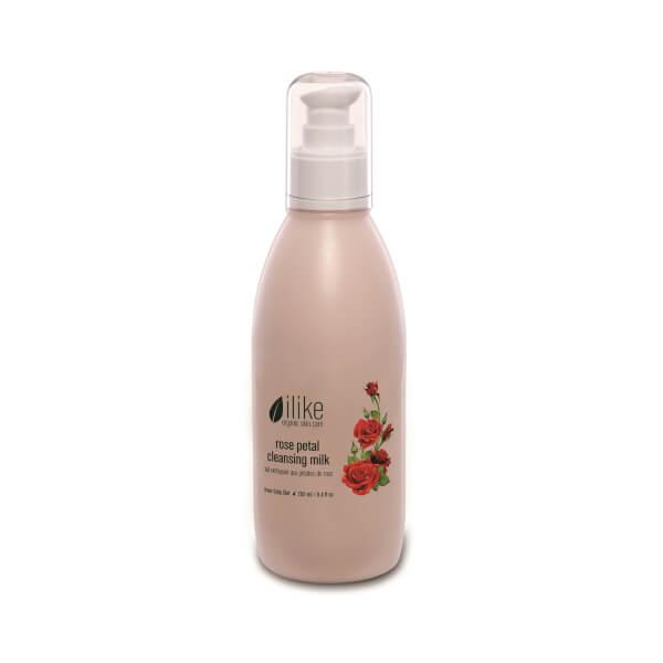 ilike organic skin care Rose Petal Cleansing Milk