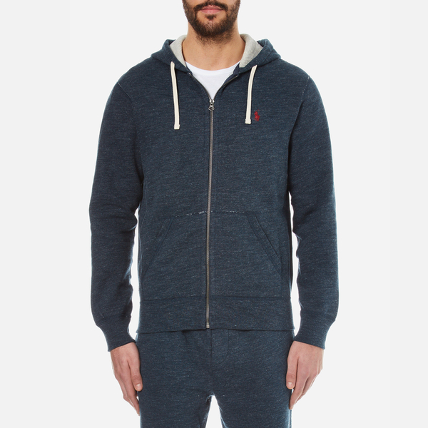 Polo Ralph Lauren Men's Full Zip Hoody - Blue Eclipse: Image 1