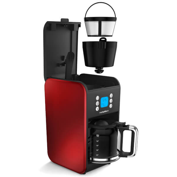 Morphy Richards Accents Coffee Maker Review : Morphy Richards 162009 Accents Filter Coffee Maker - Red ...