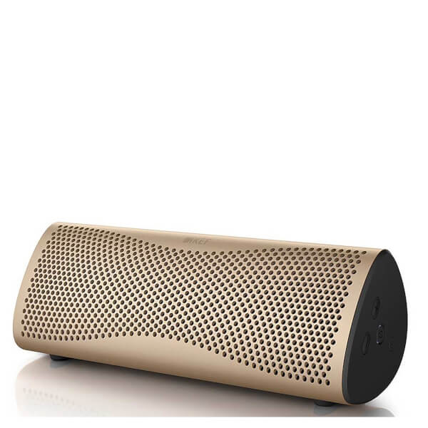 KEF MUO Bluetooth Speaker - Gold