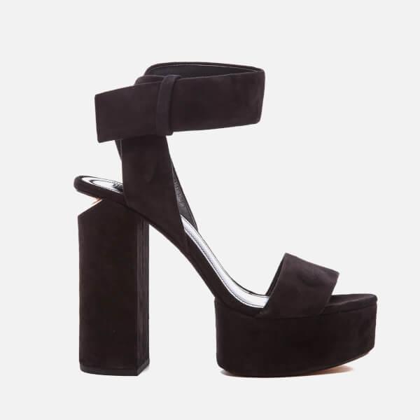 Alexander Wang Women's Keke Platform Heeled Sandals - Black