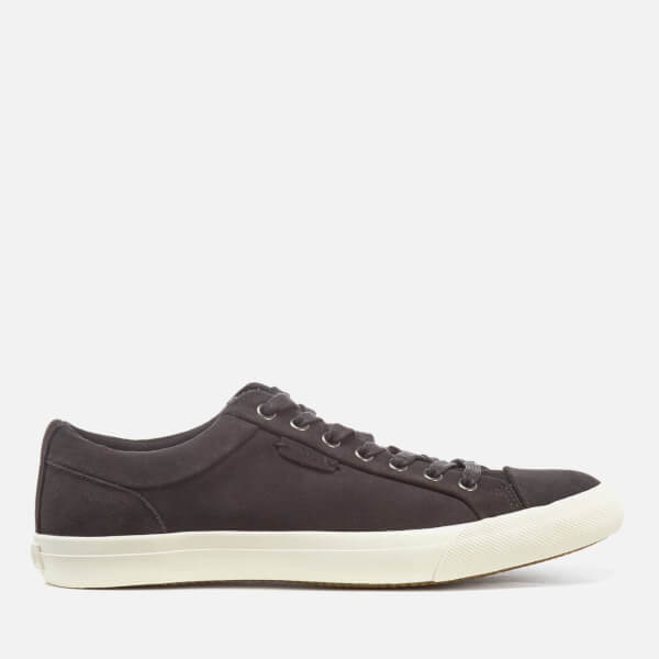 Polo Ralph Lauren Men's Geffrey Sport Suede Trainers - Charcoal