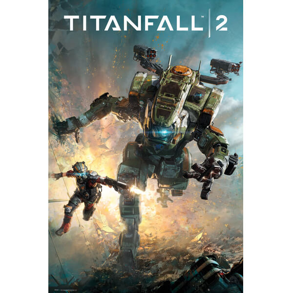Titanfall 2 Cover Maxi Poster 61 X 91 5cm Homeware Zavvi