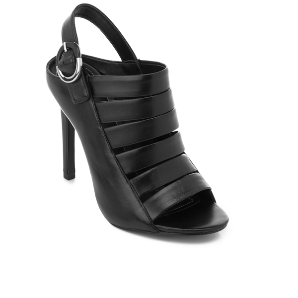 669ebd2ac81 Kendall + Kylie Women s Mia Strappy Leather Heeled Sandals - Black  Image 2