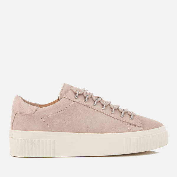 Kendall + Kylie Women's Reese Suede Trainers - Sand