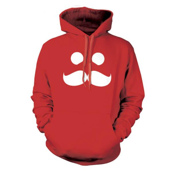 Mumbo Jumbo Hoodie - Red
