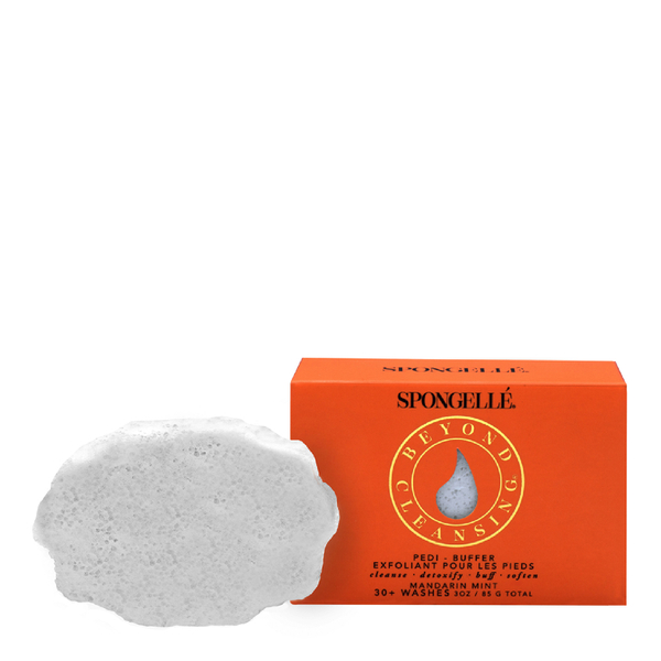 Spongellé Infused Pedi-Buffer - Mandarin Mint