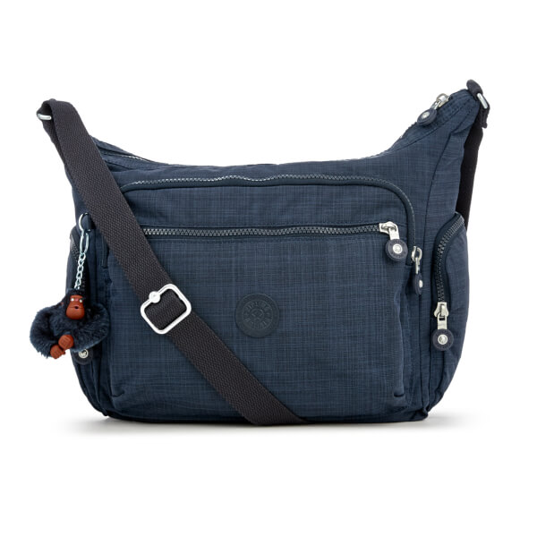 Kipling Women's Gabbie Large Shoulder Bag - Dazzling True Blue