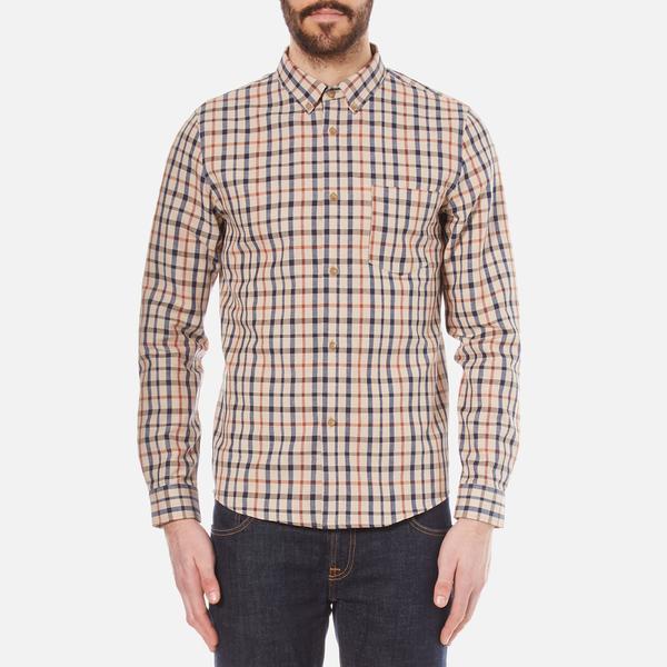 A.P.C. Men's Chemise Mick Shirt - Beige