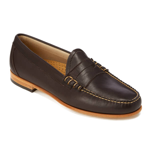 Bass Weejuns Men's Palm Springs Larson Mon Leather Penny ...