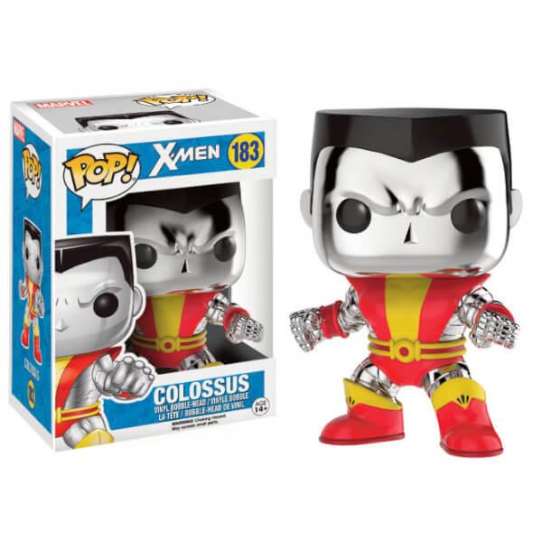 Marvel X-Men Chrome Colossus LE Pop! Vinyl Figure