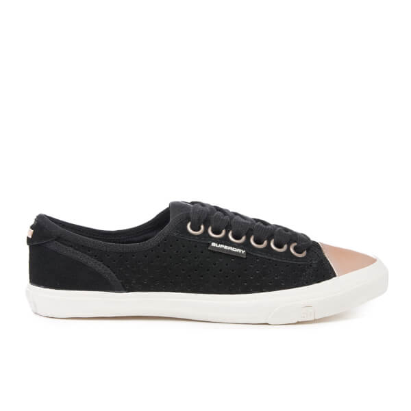 Superdry Women's Low Pro Luxe Trainers - Black