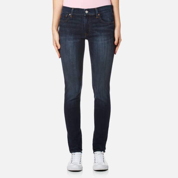 Polo Ralph Lauren Women's Tompkins Skinny Jeans - Dark Indigo: Image 1