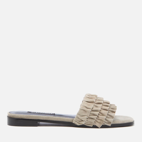Senso Women's Harris Suede Slide Sandals - Dove