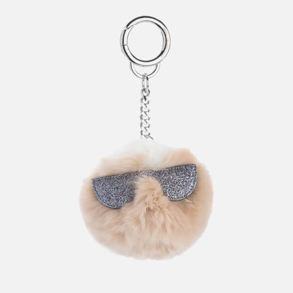 Karl Lagerfeld Women s K Kocktail Fur Karl Keychain - Seashell - Free UK  Delivery over £50 ede06ee6f