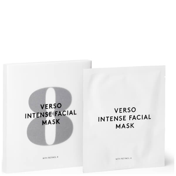 VERSO Intense Facial Mask (4 Pack)