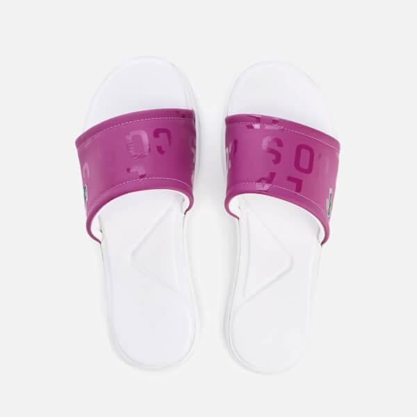 0f5d24f376cab Lacoste Women s L.30 Slide 117 1 Slide Sandals - Purple