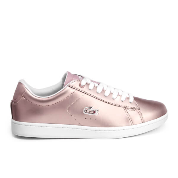 Lacoste Women's Carnaby Evo 117 3 Cupsole Trainers - Light Pink