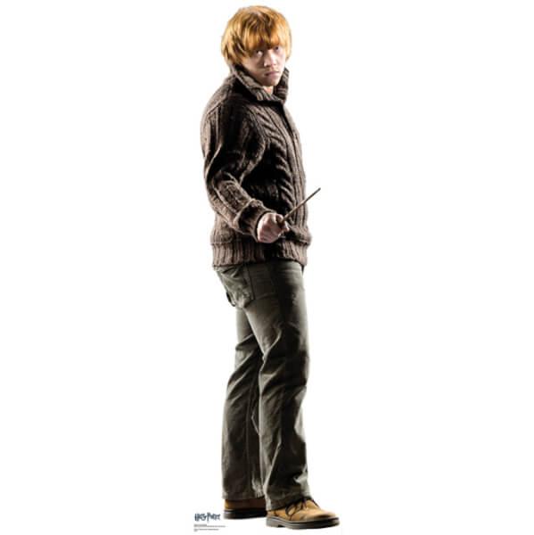 Silhouette Découpée en Carton Ron Weasley Harry Potter