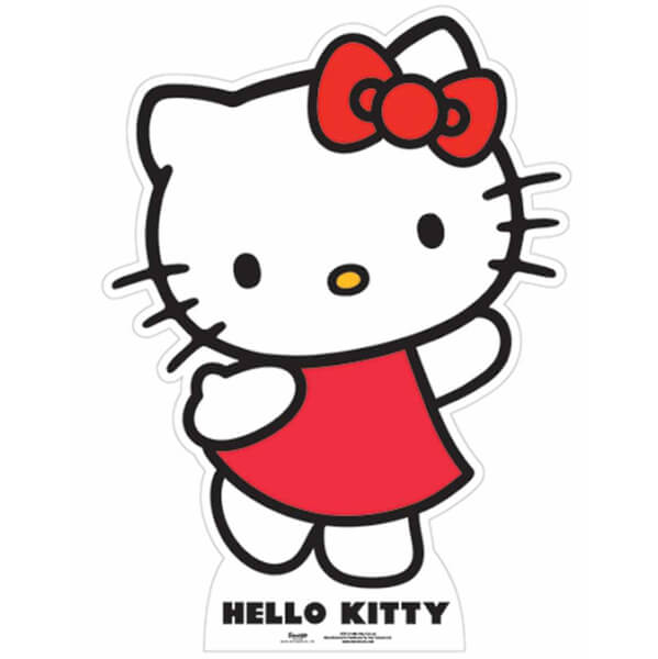 Hello Kitty Star Mini Cut Out