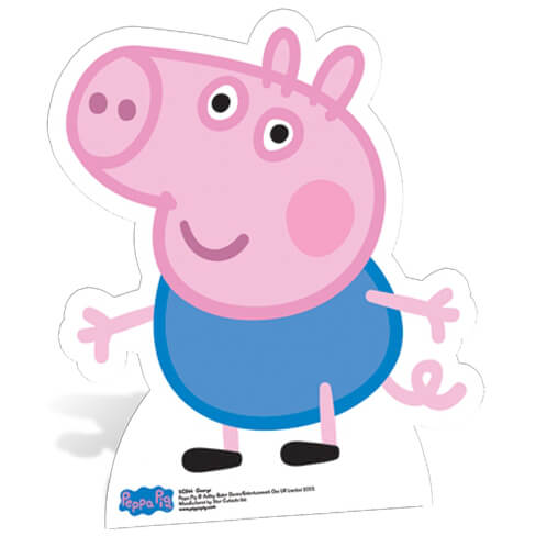 Peppa Pig George Pig Star Mini Cut Out