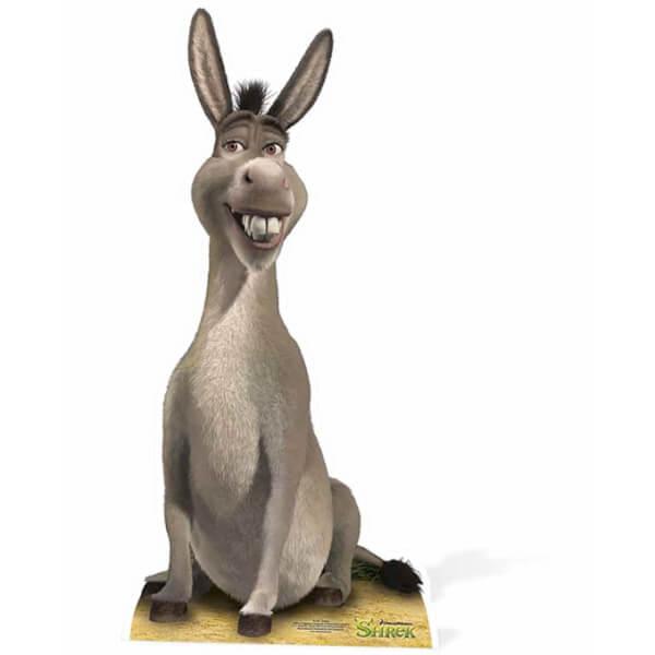 Shrek Donkey Mid Sized Cut Out