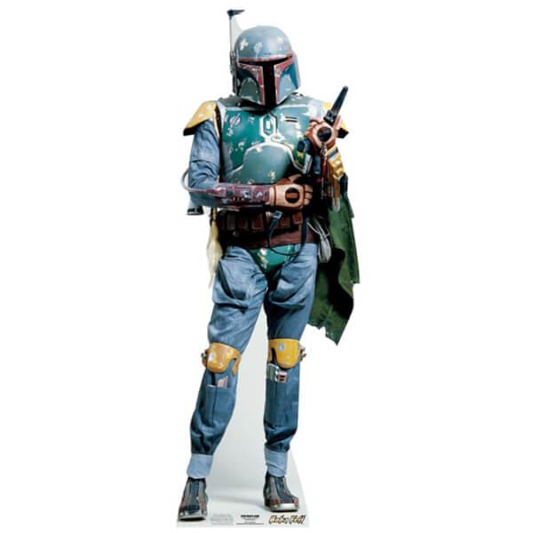 Star Wars Boba Fett Star Mini Cut Out