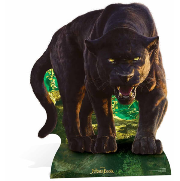 The Jungle Book Bagheera Stand In Cut Out